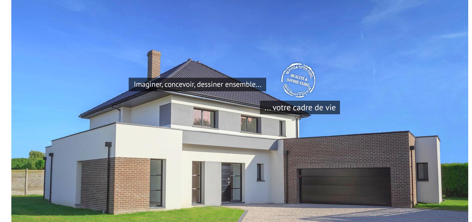 Construction maison individuelle architecte