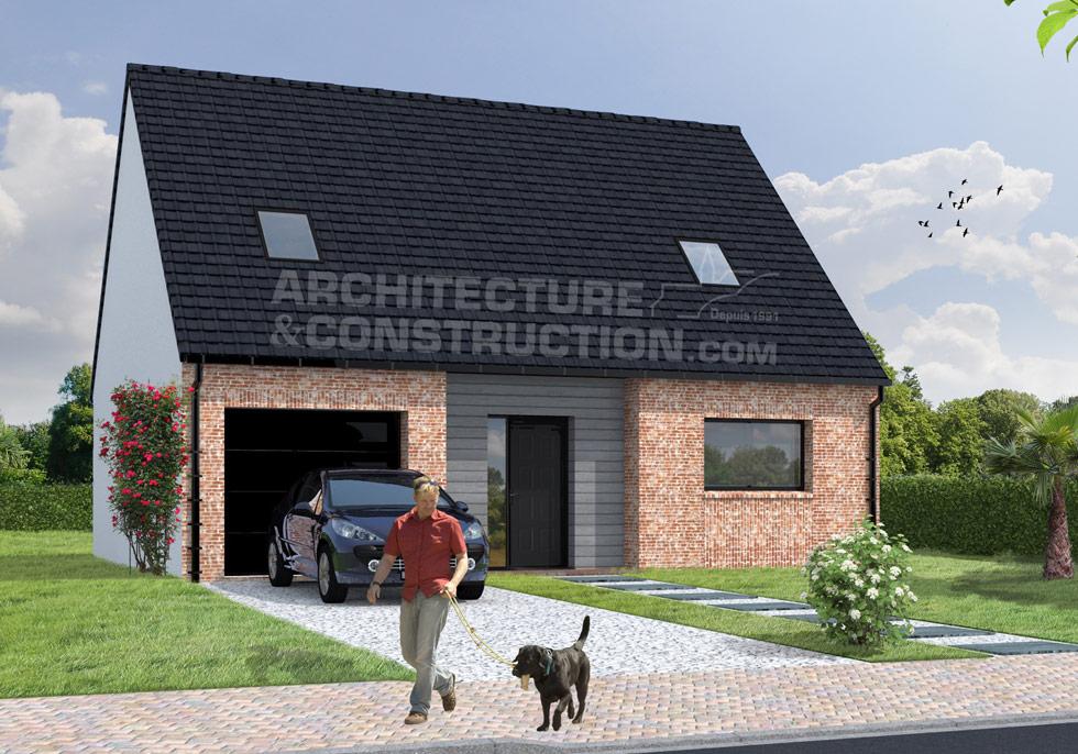 Galerie de nos maisons terrains for Terrain et construction maison individuelle